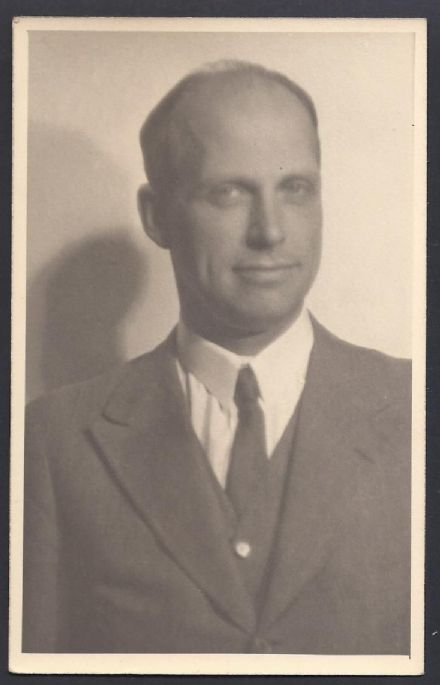 Archduke Anton Habsburg of Austria Antique Photo Postcard 1938
